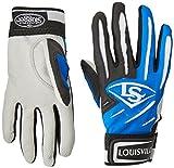 Louisville Slugger Youth BG Series 5 Batting Glove, Royal, Medium