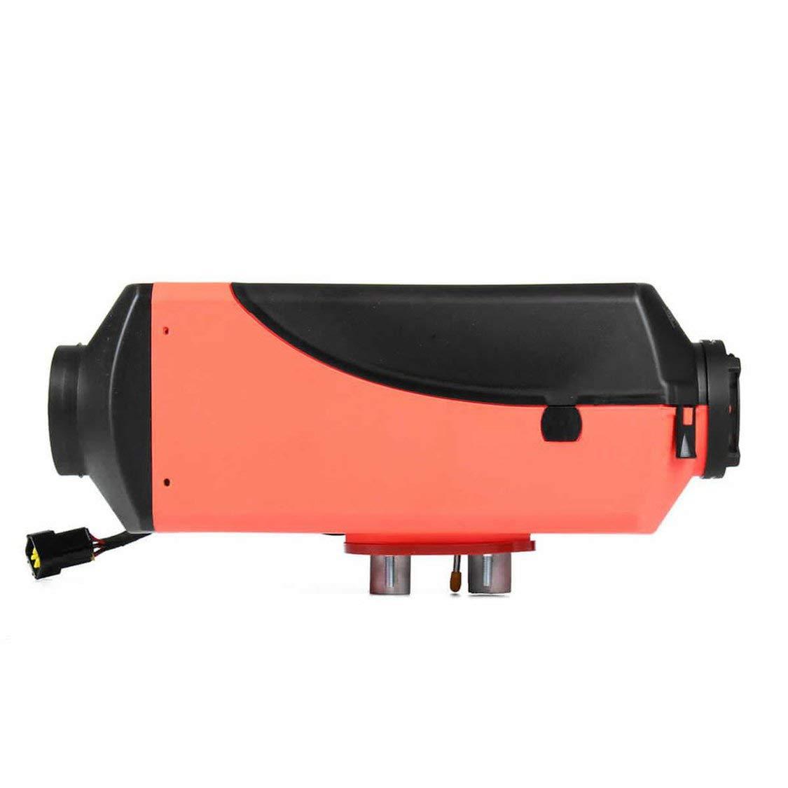 12v LCD Simple con silenciador Remoto Controlador de Aire Diesel Combo Accesorios Esenciales Gwendoll 8kw
