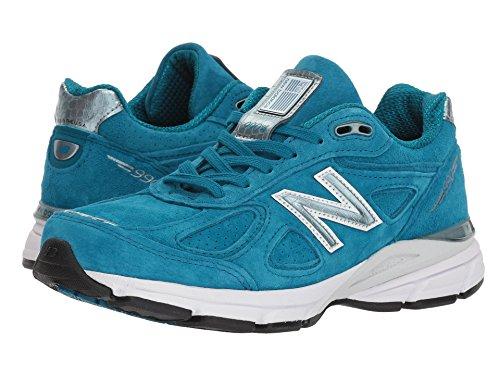 革命同志休憩(ニューバランス) New Balance レディースランニングシューズ?スニーカー?靴 W990v4 Lake Blue/Lake Blue 12 (29cm) B - Medium