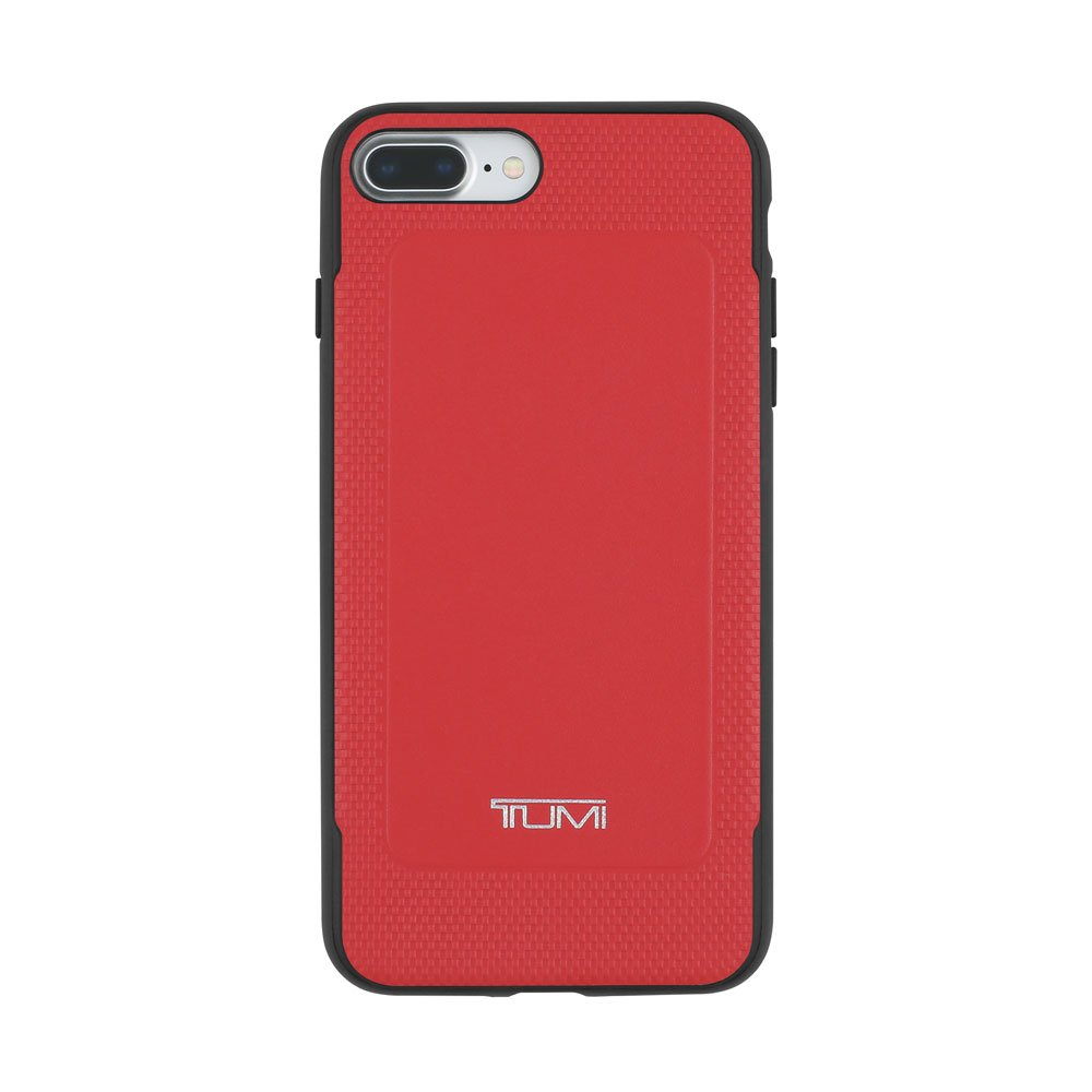 size 40 dbb00 dcbb8 TUMI Leather Co-Mold Case for iPhone 7 Plus - Red Leather