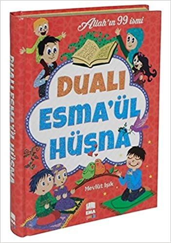 Duali Esmaul Husna Ciltli Allahin 99 Ismi Turkish Hardcover