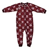 Outerstuff Texas A&M Aggies NCAA Little Boys Raglan Zip-up Coverall Sleeper, Maroon