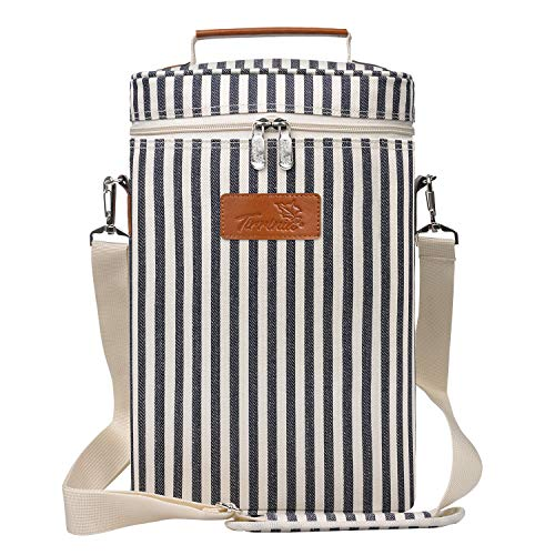 Insulated Wine Tote Carrier Adjustable product image