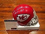Len Dawson Signed Kansas City Chiefs Hof 87 Mini Helmet Itp - PSA/DNA Authenticated
