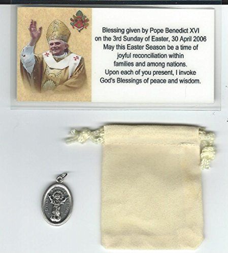 Divino Child (Nino) Medal Blessed by Pope Benedict XVI at Vatican