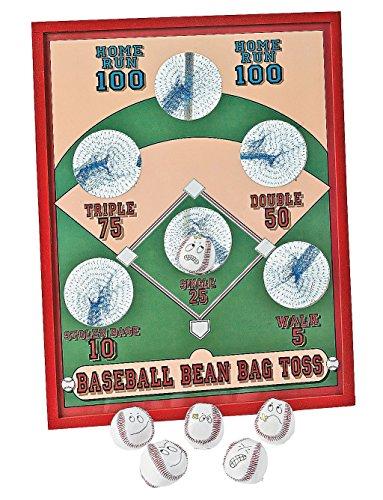 Fun Express Baseball Bean Bag Toss Game -