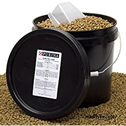 Purina Mills Game Fish Chow, A 32% Protein, Extruded Multi-Particle Size Floating Diet For Bass, Bluegill, Catfish, Minnows, Carp, And Other Fish That Normally Populate Ponds, 8 lbs.