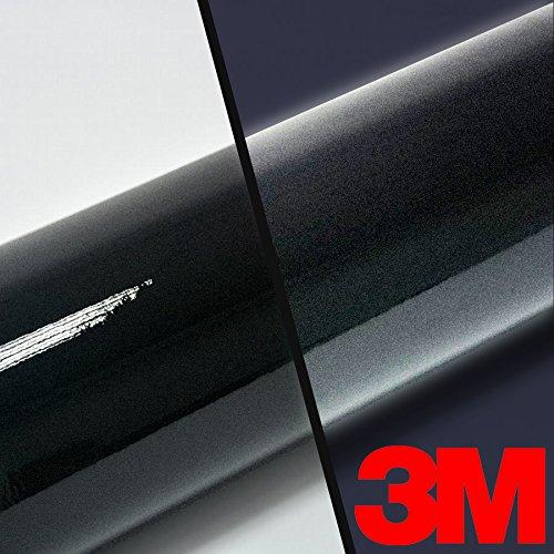 "3M High Intensity Gloss Black Reflective Adhesive Vinyl Tape 2-Roll Pack (1"" x 54"")"