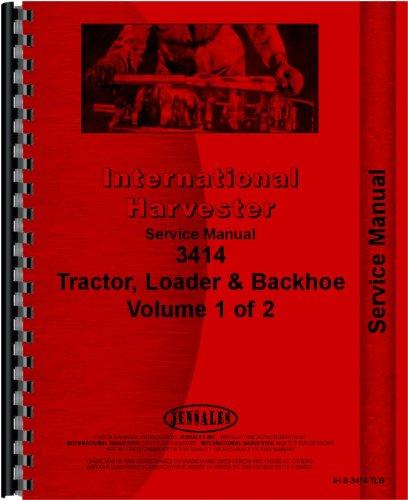 International Harvester 3414 Industrial Tractor Service Manual ()