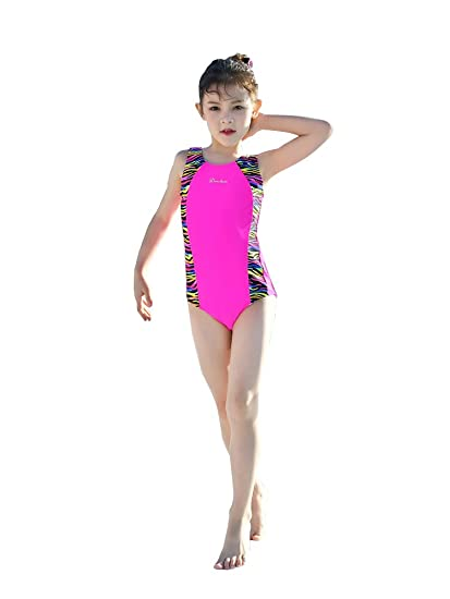 85827f4a Amazon.com: DELight Girls Bathing Suit Baby Girls Swimwear One Piece ...