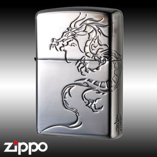 zippo ジッポーライター タイガーアンドドラゴン2SIDR2 B0733WR2K2