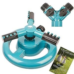 Amazon.com : Lawn Sprinkler MyGarden Automatic Garden ...
