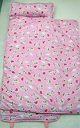 SoHo Nap Mat , Pink Zebra