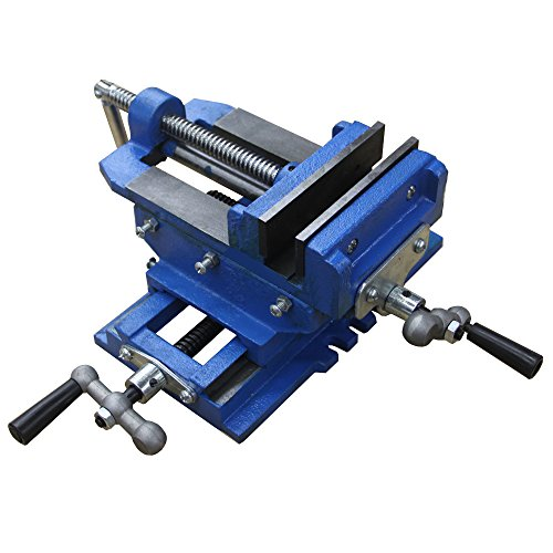 HFS (Tm) 5″ Cross Slide Vise Drill Press Metal Milling 2 Way X-Y Heavy Duty Clamp Machine
