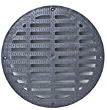 Storm Drain FSD-3017-GEB 12'' Flat Grate for Catch Basin