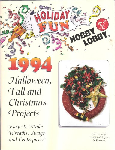1994 Halloween Fall and Christmas Projects