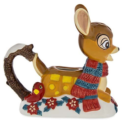 Disney Parks Bambi Retro Happy Holidays Creamer