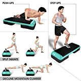 Yes4All Adjustable Aerobic Step Platform with 4