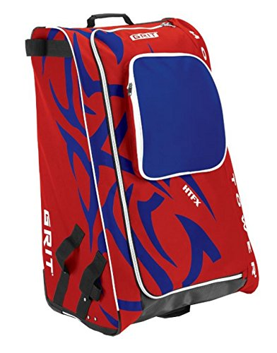 Grit Inc HTFX Hockey Tower 33'' Wheeled Equipment Bag Red HTFX033-MO (Montreal) by Grit