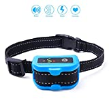 Pet Inn No Bark Collar for Dogs - Beep, Vibration, Shock with Auto Protection Mode Waterproof & Rechargeable [2018 New]