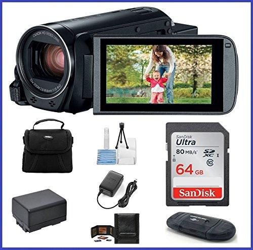 Canon VIXIA HF R82 Full HD Camcorder Bundle, includes: 64...