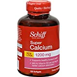 Schiff Super Calcium -- 1200 mg - 120 Softgels
