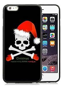 Best Buy Design iPhone 6 Plus Case,Christmas Skull Black iPhone 6 Plus 5.5 Hard Case 1