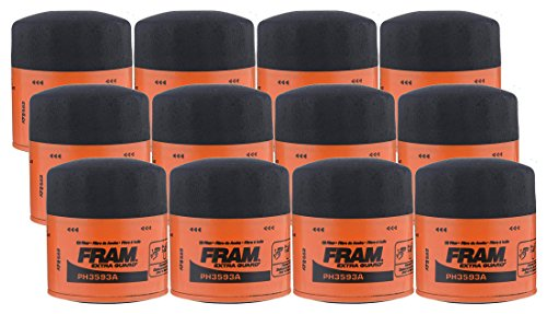 Fram PH3593A Extra Guard Spin-On Oil Filter - (Pack of 12) by Fram