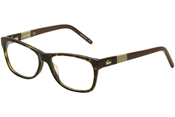 Amazon.com: LACOSTE Eyeglasses L2691 214 Havana 53MM: Clothing