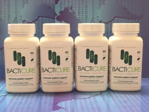 BACTICURE (4) Probiotic Probiotico Natural ORIGINAL