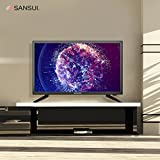 SANSUI LED TV 24 1080p HD 60Hz Ultra Slim Flat Electronics Television High Definition and Widescreen Monitor HDTV with HDMI PCA Input and USB (2018 Model) (24-Inch 1080p)