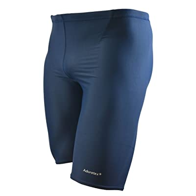 Adoretex Men's Solid Jammer Swimsuit