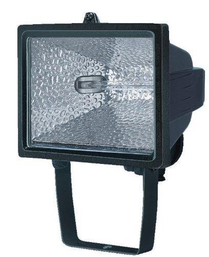 Brennenstuhl Halogenstrahler H 500 IP54 schwarz In- und Outdoor, 1171380