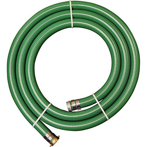 "JGB Enterprises A007-0329-1650 Eagle Green PVC Water Suction Hose, 2"" x 50"