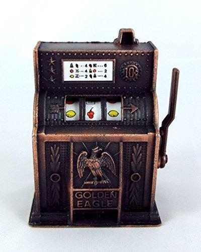 Town Square Miniatures Dolls House Miniature Pub Bar Shop Arcade Accessory Old Fashioned Slot Machine from Town Square Miniatures