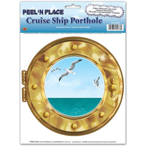 Cruise Ships Peel (Cruise Ship Porthole Peel 'N Place 12