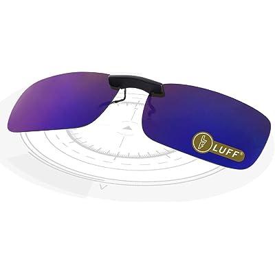 LUFF Polarizado Clip Unisex en Gafas de Sol para Anteojos Recetados-Buen Estilo de Clip Gafas de Sol para la Miopía Gafas al Aire Libre/Conducción/Pescar