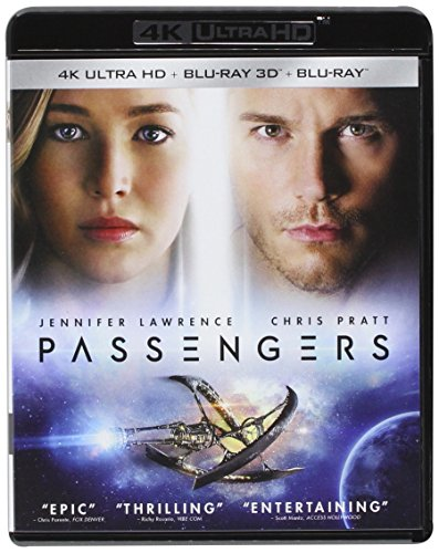 Passengers -  Blu-ray, Rated PG-13, Morten Tyldum