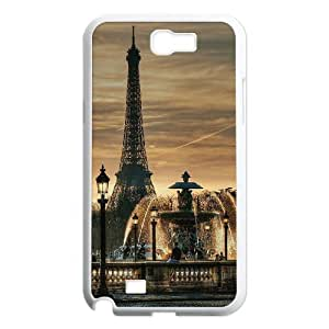 DIY Let's Move to Paris Case, DIY Protective Hard Case for samsung galaxy note 2 n7100 with Let's Move to Paris (Pattern-9)