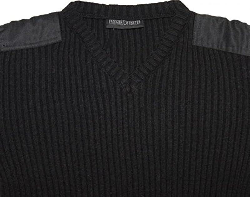 Freeman T Porter skatewear swetry vletta Black Sweater - s wielokolorowa: Odzież