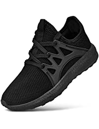Kids' Sneakers Lace-up Breathable Lightweight Athletic Running Walking Tennis Shoes for Boys Girls