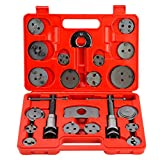 OrionMotorTech Master Disc Brake Piston Caliper Compressor Spreader Tool Set | Brake Pad Replacement Reset Wind Back Kit | Set of 22