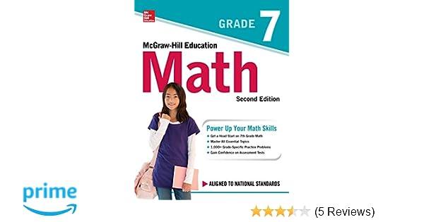 McGraw Hill Education Math Grade 7 Second