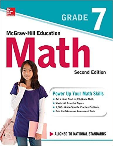 McGraw Hill Education Math Grade 7 Second
