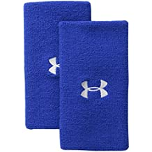 "Under Armour 6"" Performance Wristband, Royal (400)/White, One Size"