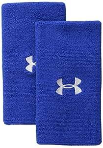 under armour pulsera de rendimiento, 15.2cm, Azul real/Blanco, Una talla