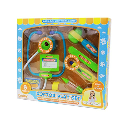 Boley's Doctor Kit – Pretend play doctor set with flashing lights!
