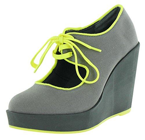 Volatile Kicks Women's Clownin Fashion Sneaker,Grey,7.5 B US