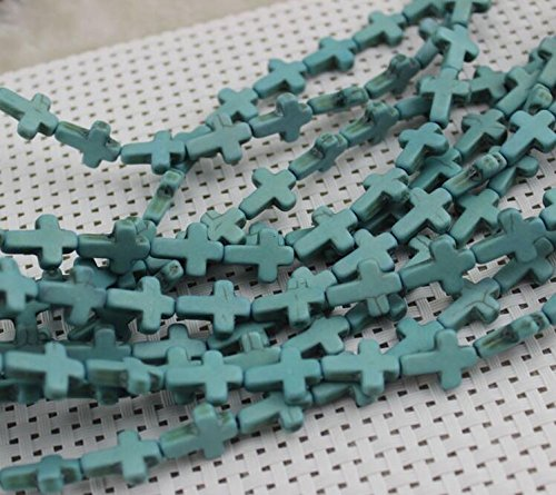 12x16mm-cross-blue-howlite-turquoise-beads-loose-gemstone-beads-for-jewelry-making-strand-15-inch