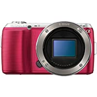 Sony Alpha NEX-C3 Digital Camera Body (Pink) - International Version (No Warranty)